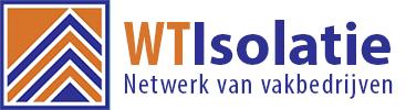 WT Isolatie – spouwmuurisolatie, vloer- en dakisolatie! Logo